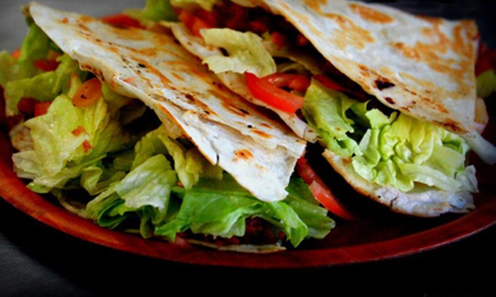 First Floor Cafe - Oklahoma City: $7.50 for an Italian Taco Combo Meal for Two at First Floor Cafe ($15 Value)
