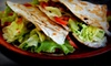 $7.50 for Italian Tacos at First Floor Cafe
