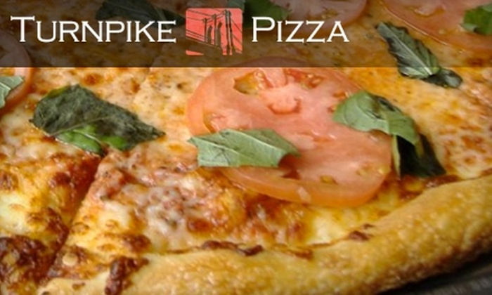 Turnpike Pizza - Green Lakes: $10 for $22 Worth of Pizza, Drinks, and More at Turnpike Pizza in Greenlake