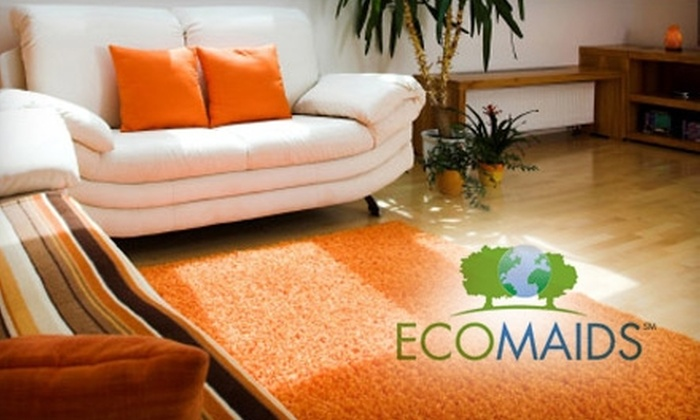 EcoMaids Austin - Northwest Austin: Environmentally Friendly House-Cleaning Package from EcoMaids Austin. Choose Between Two Options.