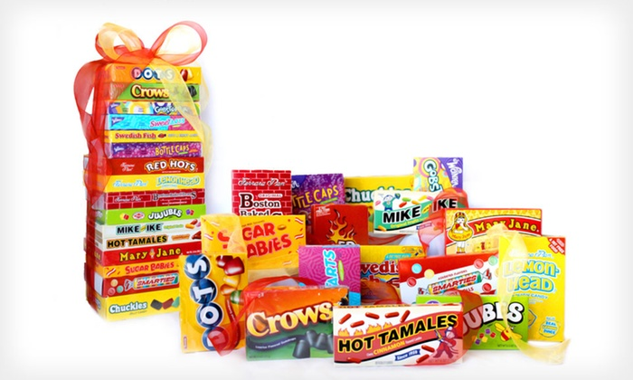 Candy Crate Retro-Candy Collection: $25 for a Candy Crate Movie-Night Retro-Candy Collection with 16 Classic Candies ($39.99 List Price). Free Shipping.
