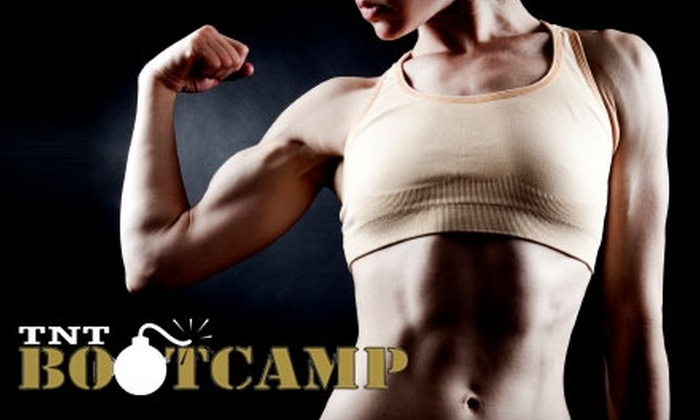 TNT Bootcamp - Multiple Locations: $25 for One Month of Unlimited Boot-Camp Fitness Classes Plus One Additional Free Week at TNT Bootcamp ($197 Value)