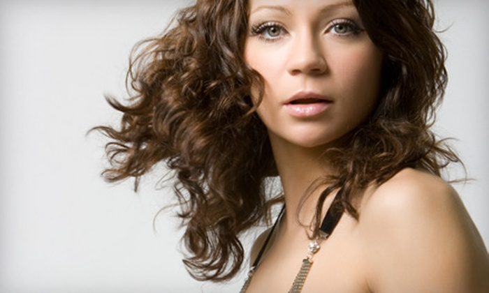 Fringe Salon - Livonia: Makeover Package, Styling Package, or Hair, Nail, and Waxing Services at Fringe Salon in Livonia
