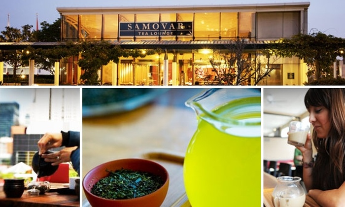 Samovar - Hayes Valley: Sip Three Specialty Teas at Samovar Tea Lounge for $10