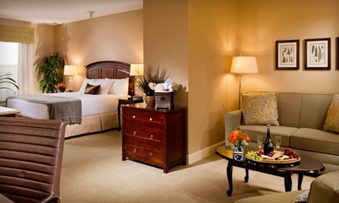 Ayres Hotel & Spa Mission Viejo - Mission Viejo: $179 for a One-Night Stay for Two with Couples Massage, Wine, Appetizer, and Breakfast at Ayres Hotel & Spa Mission Viejo (Up to $369 Value)