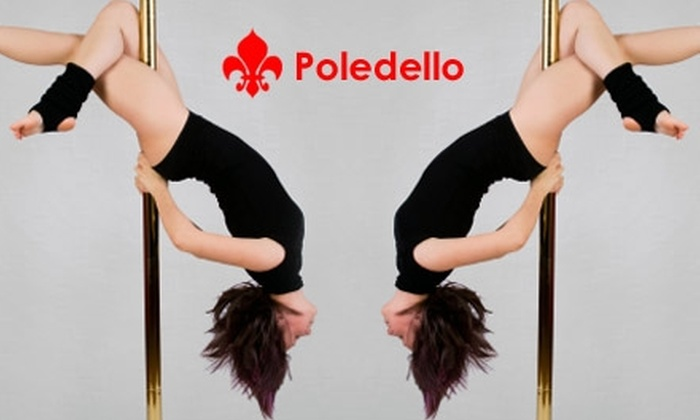 Poledello - New Tacoma: $22 for Three Introductory Pole-Dancing Classes at Poledello