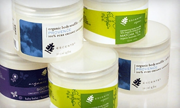 Escents Aromatherapy - Downtown: $20 for $40 Worth of Natural Bath and Body Products at Escents Aromatherapy