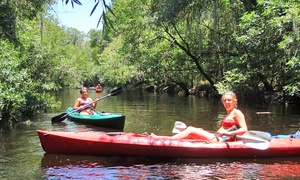 Canoe Outpost: Two-Night Cabin Stay and Kayak or Canoe Trip for Two from Canoe Outpost (Up to 41% Off). Two Options Available.