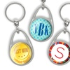 Up to 80% Off Personalized Stainless Steel Pressed Keychains