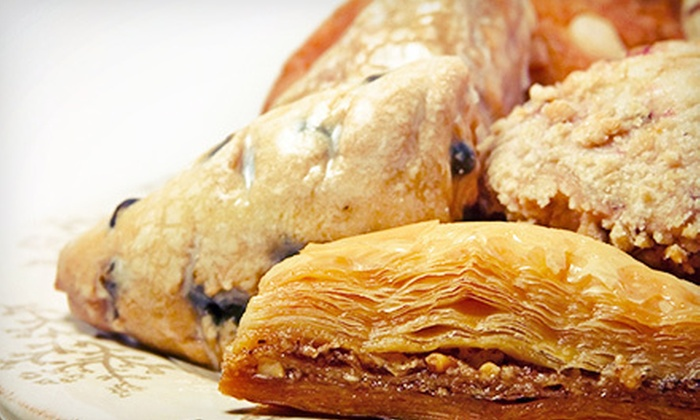 Athan's Bakery - Multiple Locations: Pastries and Mediterranean Café Food or Catering at Athan's Bakery (Half Off)