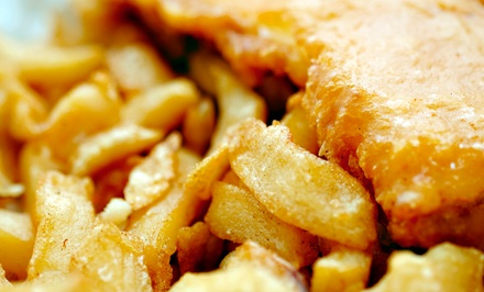 Fried Fish, Chicken, and Sandwiches at City Fish and More (45% Off). Two Options Available.