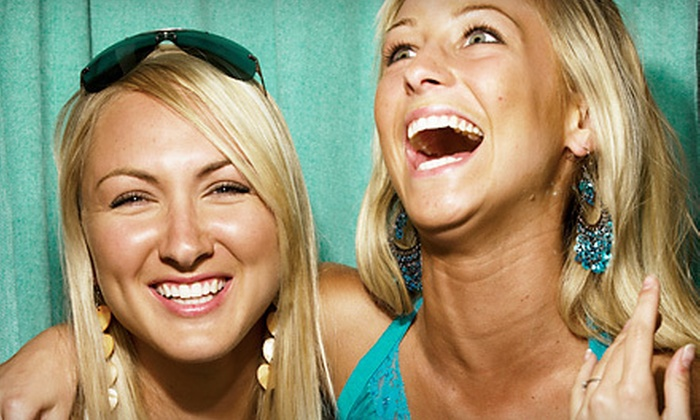 Happy Foto Booth - Orange County: $499 for a Three-Hour Photo-Booth Rental with Unlimited Prints from Happy Foto Booth ($1,100 Value)