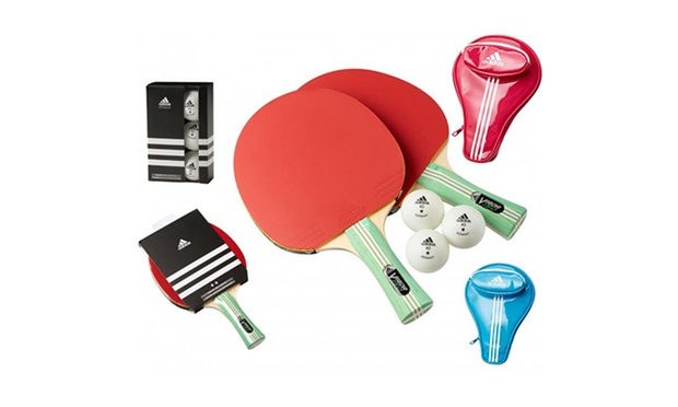 adidas tischtennisschl ger set groupon goods. Black Bedroom Furniture Sets. Home Design Ideas
