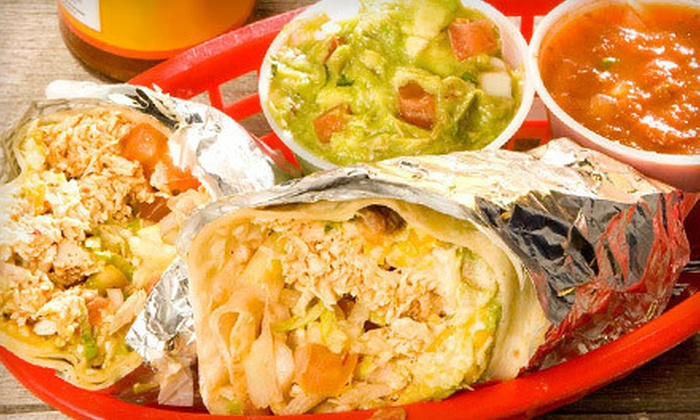 Fuzzy's Taco Shop - Sunset Village: Mexican Food for Two or Four at Fuzzy's Taco Shop (Up to 55% Off). Three Options Available.