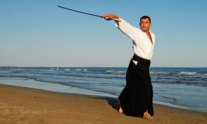 New School Aikido - Civic Center: One Month of Unlimited Aikido Classes for One or Two at New School Aikido (Up to 50% Off)