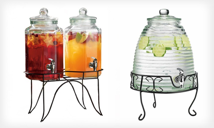 Home Essentials Drink-Dispensing Jugs: Home Essentials Drink Dispensers in Beehive, Bell, Bird, or Hexagon Styles (Up to Half Off). Free Shipping and Returns.