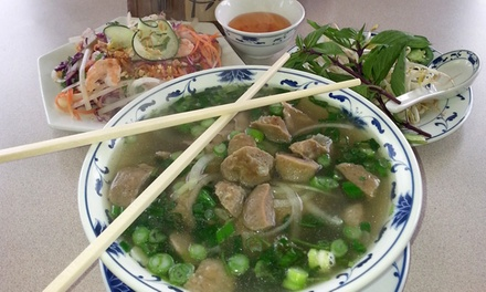 Vietnamese Cuisine at Lam Tuyen Vietnamese Cuisine (50% Off). Two Options Available.