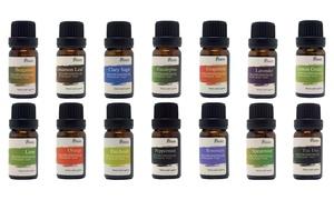 Pursonic Aromatherapy Therapeutic-Grade Essential Oils (6- or 14-Pack): Pursonic Aromatherapy 100% Pure Therapeutic-Grade Essential-Oil Gift Set (6- or 14-Pack)