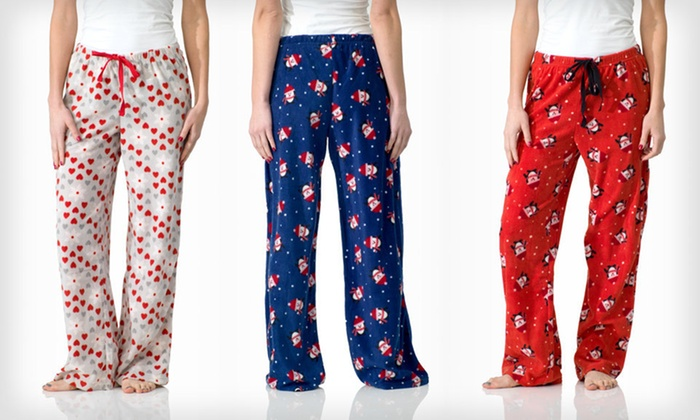 Intimo for Her Pajama Pants: $13 for Women's Pajama Pants in Fun Prints ($20 List Price). 26 Styles and Sizes Available.