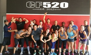 CrossFit 520: Two Weeks of Gym Membership at DNA Personal Training / CrossFit 520 (64% Off)