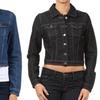 Women's Cropped Denim Jacket