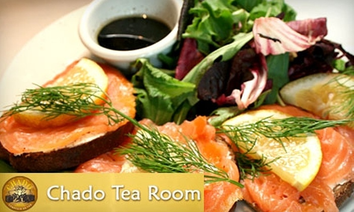Chado Tea Room - Multiple Locations: $15 for $30 Worth of Specialty Tea, Sandwiches, and More at Chado Tea Room