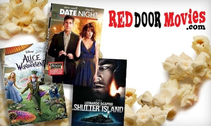 Red Door Movies - Evergreen Park: $5 for Two Rentals at Red Door Movies in Palo Alto (Up to $10 Value)