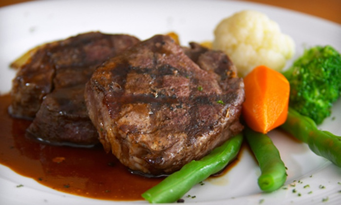 Diamond Dave's - Kennesaw: Steak-House Dinner for Two, Four, or Six at Diamond Dave's in Kennesaw