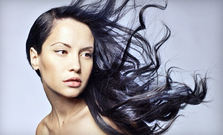 Haircut, Botanical Hair & Scalp Therapy, and Glossing Treatment ($60 value) - Synergy Aveda Salon and Spa in Boise