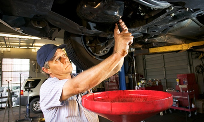 Hall Chrysler Dodge Jeep Ram - Mishawaka: Oil-Change Package or Auto-Maintenance Services at Hall Chrysler Dodge Jeep Ram in Mishawaka