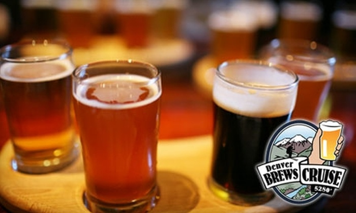Denver Brews Cruise - Golden Triangle: $40 for a Brewery Tour for Two on the Denver Brews Cruise ($74 Value)