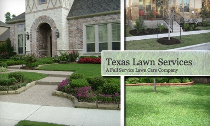 Texas Lawn Services - Austin: $40 for $80 Worth of Yard Cleaning, Lawn Care, and Tree Trimming from Texas Lawn Services