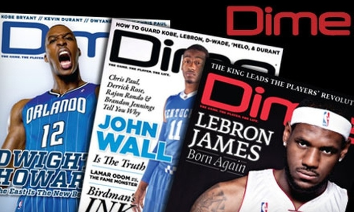 Dime Magazine - New York City: $7 for a One-Year Subscription to Dime Magazine ($14 Value)