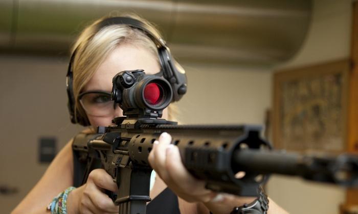 American Sportsman Shooting Center - American Sportsman Shooting Center: Up to 64% Off gunrange package at American Sportsman Shooting Center