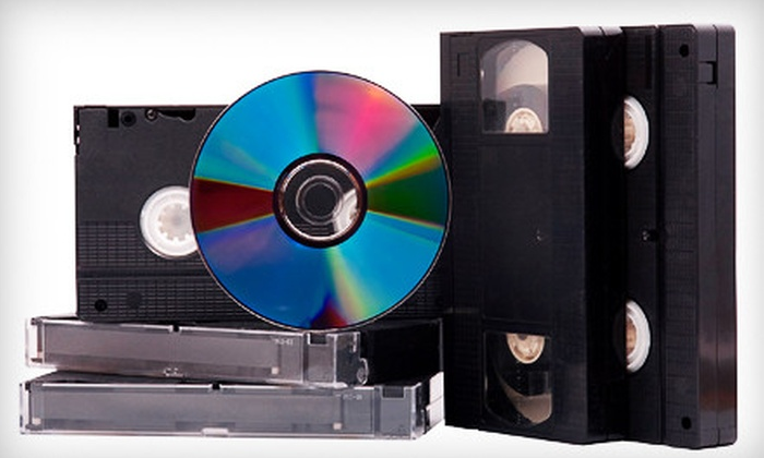 ARC TV & VCR - Multiple Locations: $45 for $100 Worth of Digital Transfers from VHS, Record, and Photo to DVD or CD from ARC TV & VCR