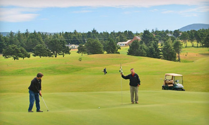 Crestview Golf Club - Waldport: Golf Outing for Two or Four, Including Cart Rental and Range Balls, at Crestview Golf Club in Waldport