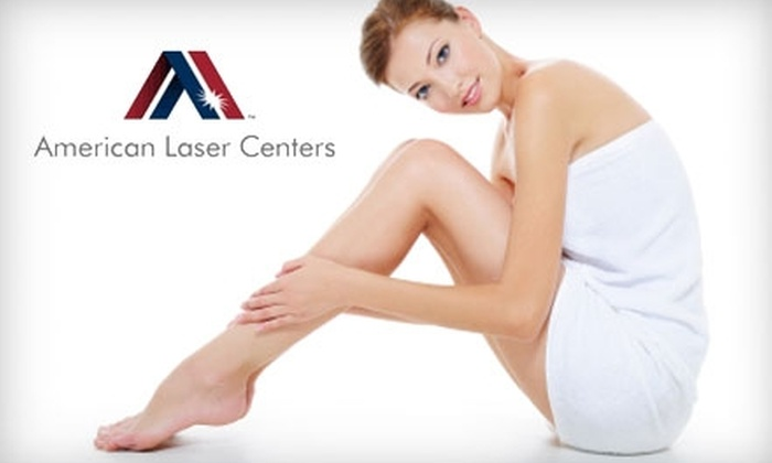American Laser Centers - Union Plaza: $49 for Three Ultra-Sonic Facial Treatments at American Laser Centers ($355 Value)