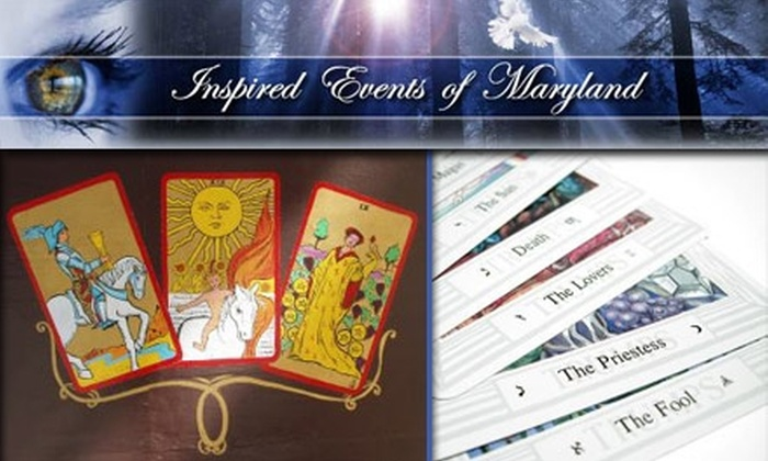 Inspired Events - Baltimore: $20 for a 30-Minute Tarot Card Reading with Brigid Mires at Inspired Events of Maryland ($40 Value)