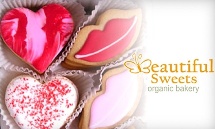 Beautiful Sweets Organic Bakery: $25 for $50 Worth of Cookies at Beautiful Sweets Organic Bakery