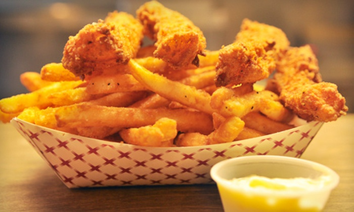 Bayou Fish House - Newport: $11 for a Seafood Meal for Two at Bayou Fish House in Newport ($23.21 Value)