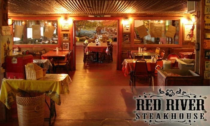 Red River Steakhouse - Troy: $7 for $15 Worth of Steak and Barbecue Fare at Red River Steakhouse in McLean