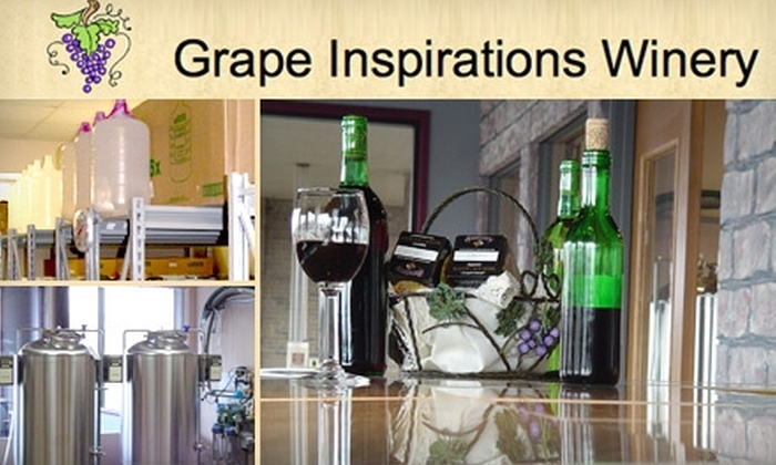 Grape Inspirations - Carmel: $10 for a Wine Class and Signature Glass at Grape Inspirations