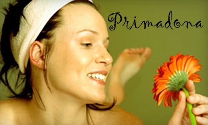 Primadona - Cow Hollow: $70 for an Instant Glow Facial Treatment at Primadona