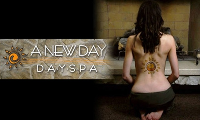 A New Day Spa - Holladay: $49 for a 90-Minute Massage ($105 Value) or $105 Worth of Laser Hair Removal at A New Day Spa in Holladay