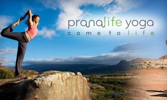Fearless Heart Yoga - Waterloo: $35 for One Month of Unlimited Yoga at Pranalife