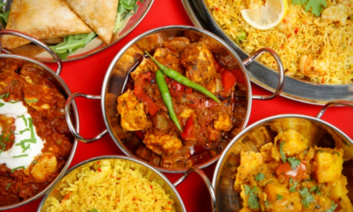 Mister Singhs - Glasgow: Seven Dish Indian Taster Menu For Two, £21.50 at Mister Singhs (Up to 58% Off)