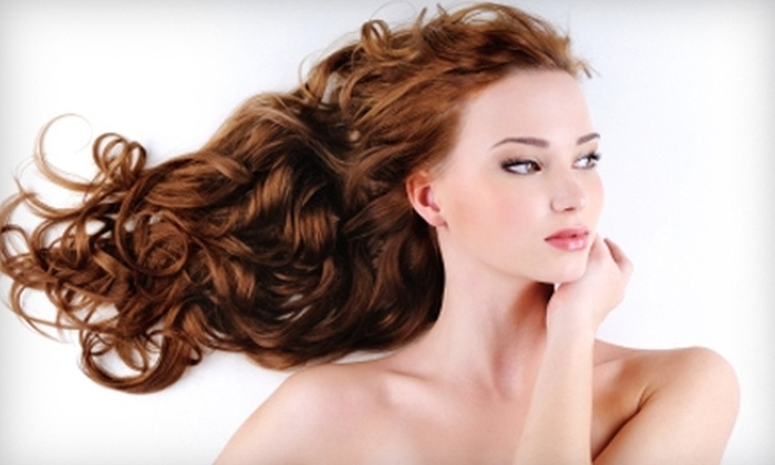 Bella Luna Salon - Elmhurst: $32 for $65 Worth of Hair Services and Products at Bella Luna Salon in Elmhurst