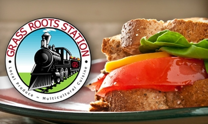 Grass Roots Station - Braddock Road Metro: $15 for $30 Worth of Local, Organic Fare at Grass Roots Station in Alexandria