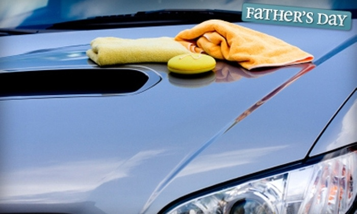 H2O Hand Car Wash and Detail - Multiple Locations: $39 for a Platinum Package at H2O Hand Car Wash and Detail ($85 Value). Choose from Three Locations.