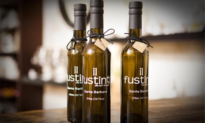 il Fustino - Santa Barbara: $10 for $20 Worth of Olive Oils and Vinegars at il Fustino